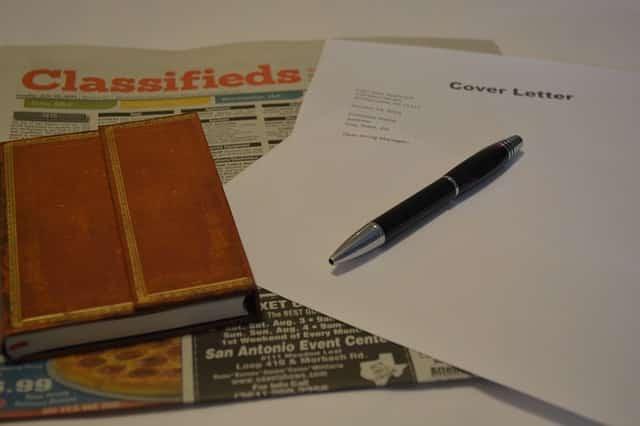 CV pour la recherche d'emploi